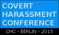 logo: covert harassment conference