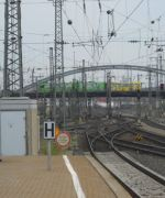 Bild 0 für Bahnfahrt zeigt grosse Nord-Süd-Unterschiede